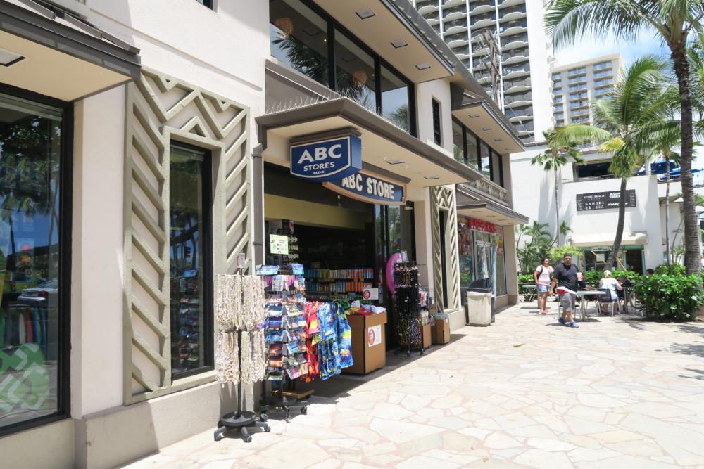 ハワイ ABCストア